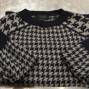 Jcrew Merino Tippi Sweater in Houndstooth size XS